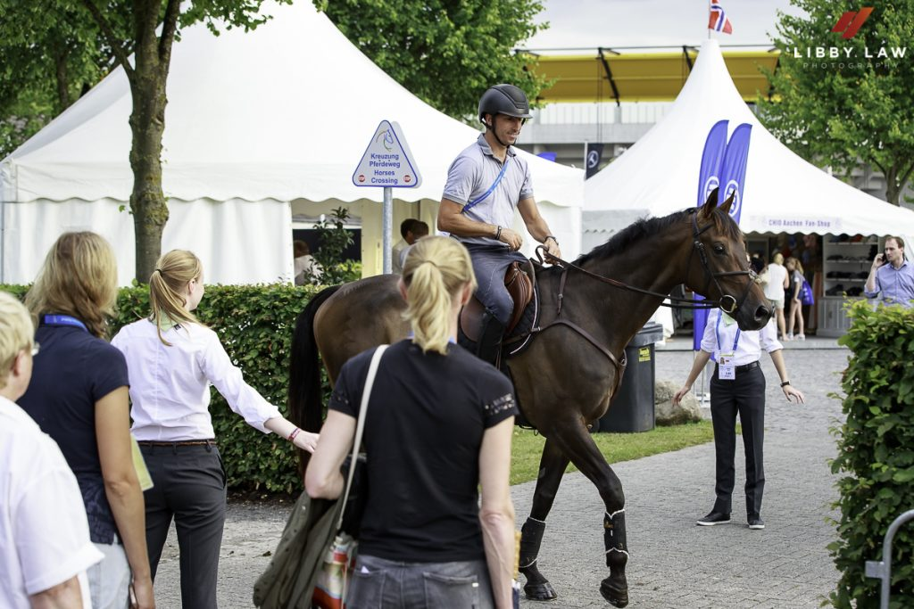 Aachen arrival 19th July