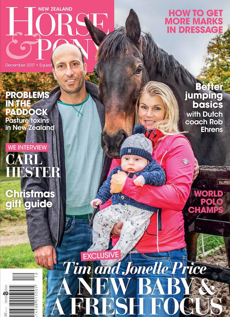 Equestrian Sports NZ end of year video & Cover stars!