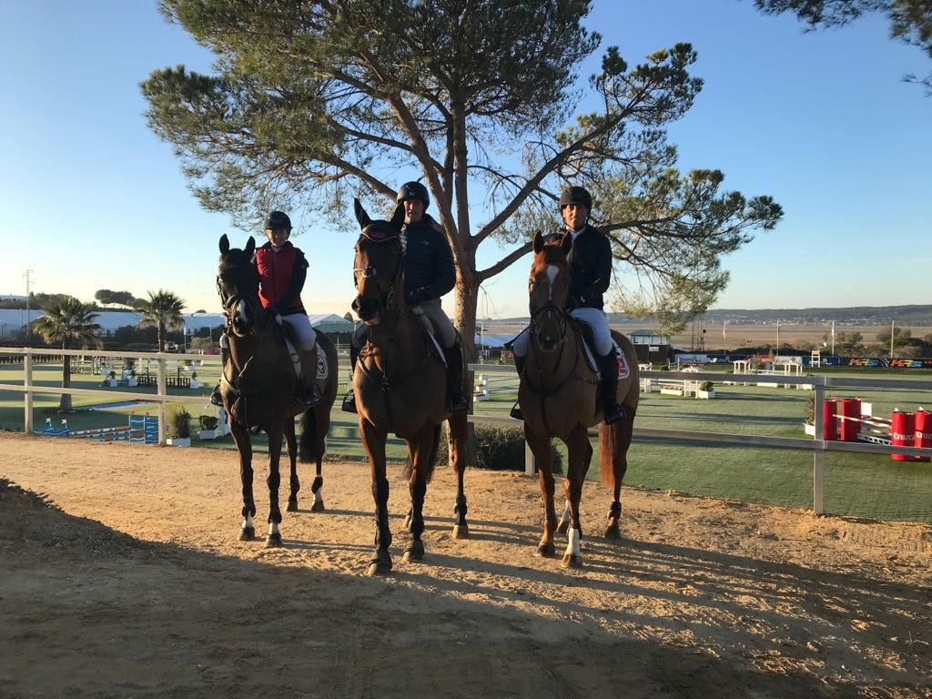 First weekend of competition Sunshine Tour