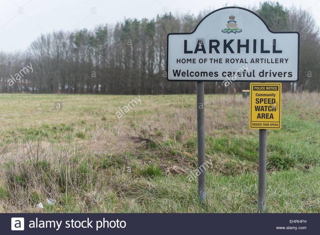 Larkhill 7th April.