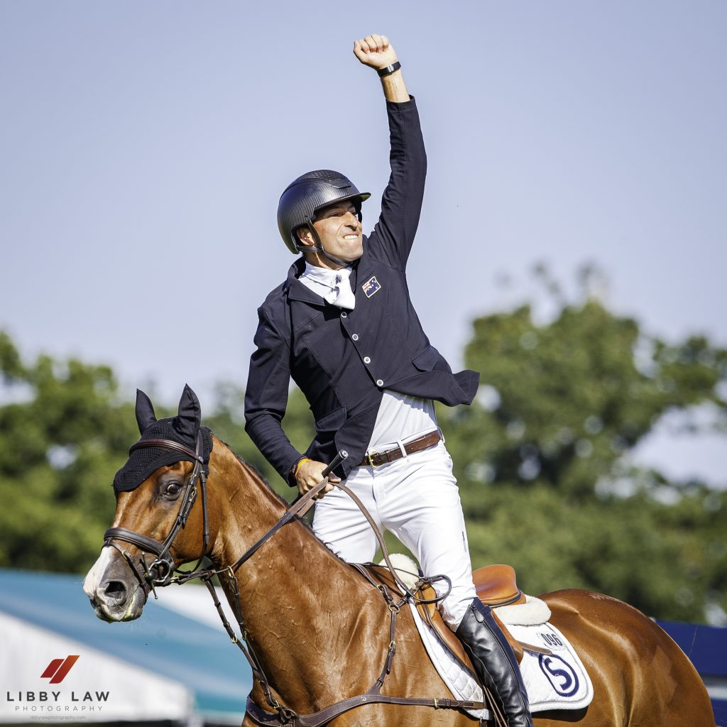 Burghley SJ… and a win for Tim and Ozzie!