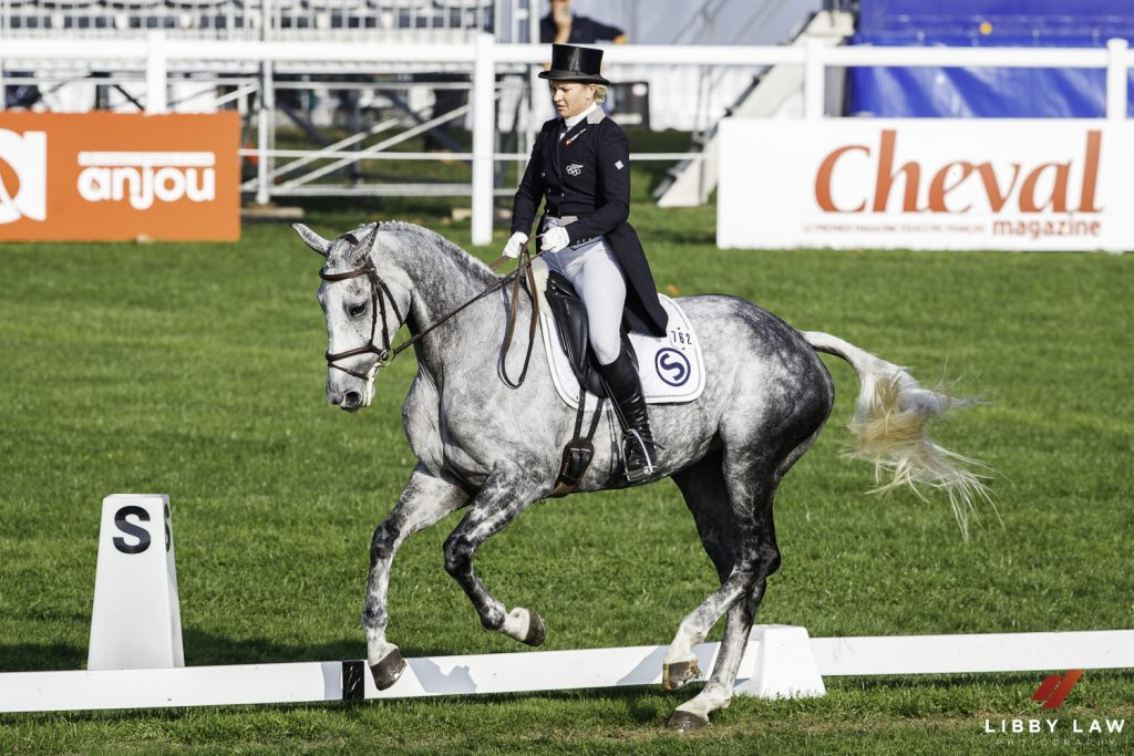 Le Lion d'Angers dressage and Bicton