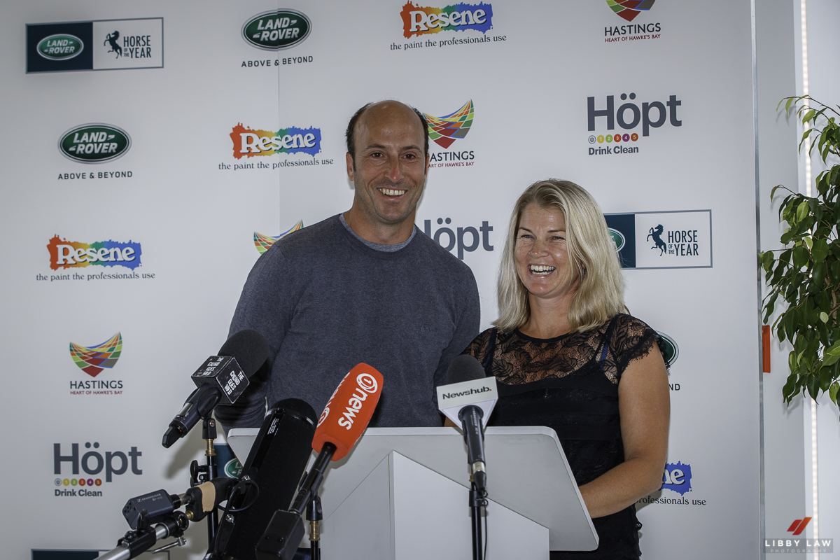 Tim and Jonelle confirm HOYS 2019